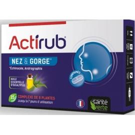 Actirub Nez & Gorge 15 Comprimés