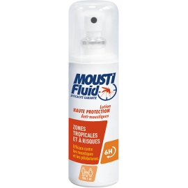 Moustifluid Lotion Haute Protection Zones Tropicales et à Risques 100 ml