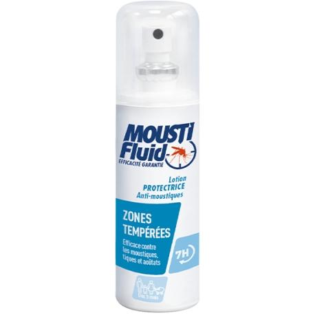 Moustifluid Lotion Protectrice Zones Temperées 100 ml
