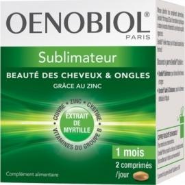 Oenobiol Capillaire Sublimateur Beauté des cheveux et des ongles 180 capsules