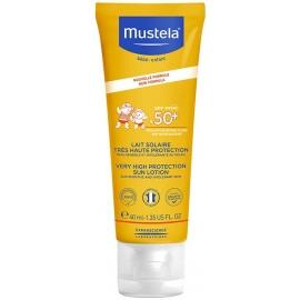 Mustela Bébé Lait Solaire Très Haute Protection SPF 50+ 40 ml