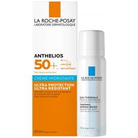 La Roche-Posay Anthelios SPF50+ Crème Hydratante 50 ml + Eau Thermale 50 ml Offerte