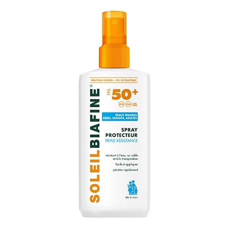 Soleilbiafine Enfant Spf 50 Lait Spray Solaire 200 ml