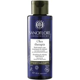 Sanoflore Olea Therapia Huile Fraîche Corps Nourrissante & Relaxante 110 ml