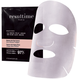Resultime Micro-Diffusion Collagène Masque Anti-âge Express x 1