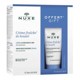 Nuxe Coffret Crème Fraîche De Beauté Crème Hydratante 48 H 30 ml + Format 15 ml Offert
