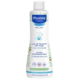 Mustela Bébé Lait De Toilette 750 ml
