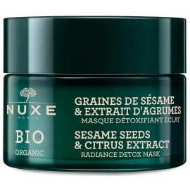 Nuxe Bio Graines De Sésame & Extrait D'Agrumes Masque Détoxifiant éclat 50 ml