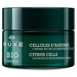 Nuxe Bio Cellules D'Agrumes Crème Riche Hydratante éclat Bio 50 ml