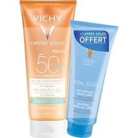 Vichy Idéal Soleil Spf 50 Gel de Lait Ultra-fondant 200ml