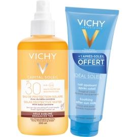 Vichy Idéal Soleil Eau De Protection Solaire SPF30 Hâle Sublimé 200 ml