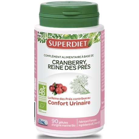 SuperDiet Cranberry Reine Des Prés 90 Gélules