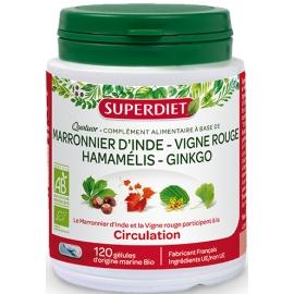SuperDiet Quatuor Vigne Rouge bio 150 gélules