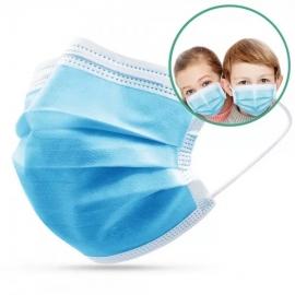 Masque Chirurgical Enfant Bleu