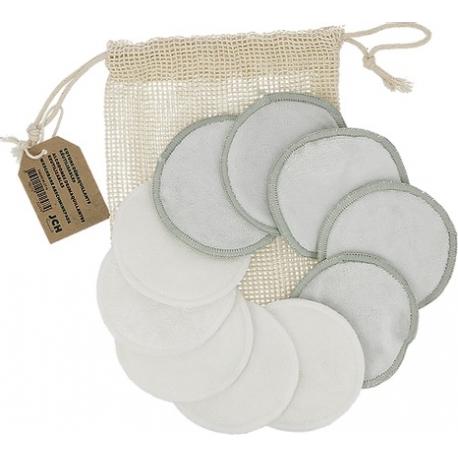 JCH Disque démaquillant lavable filet X10