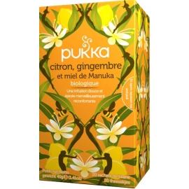 Pukka infusion citron gingembre/miel  Bio X20