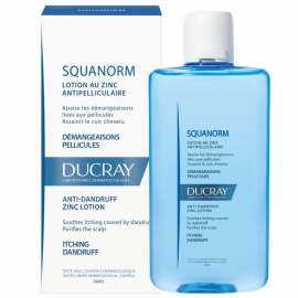 Ducray Squanorm Lotion Au Zinc Antipelliculaire 200 ml