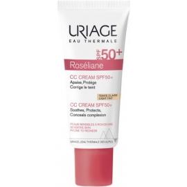 Uriage Roséliane CC Cream SPF50+ Peaux sensibles sujettes aux rougeurs 40ml