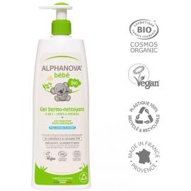 Alphanova Bébé Dermo-nettoyant cheveux et corps 500ml