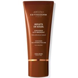 Esthederm Soins reflets de soleil auto-bronzant soin visage Hale Léger 50 ml