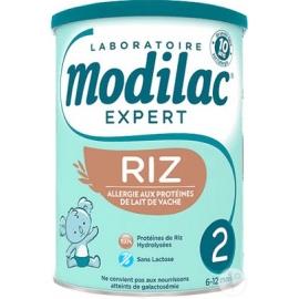Modilac Expert Riz AR Lait 2eme Age 800g