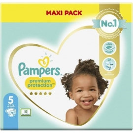 Pampers Premium Protection Taille 5 11-16kg 70 pièces