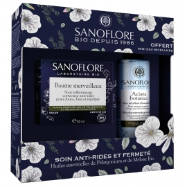 Sanoflore Coffret Baume merveilleux 50ml Certifié Bio + mini Eau micellaire aciana