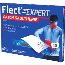 Genevrier Patch Gaulthérie x5 Flect'Expert Menthol