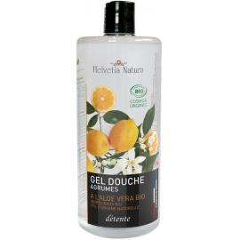 Helvetia Natura® Gel Douche Aloe vera Agrumes 1L
