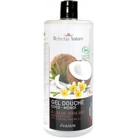 Helvetia Natura® Gel Douche Aloe vera Coco Monoï 1L