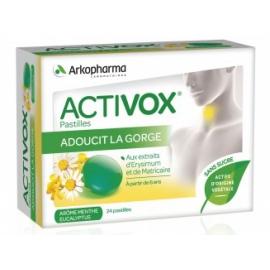 Arkopharma Activox Menthe - Eucalyptus 24 pastilles