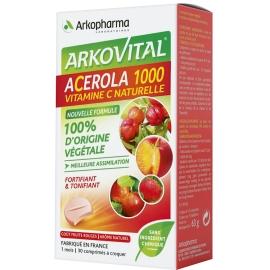 Arkopharma acerola 1000 x 30 comprimés