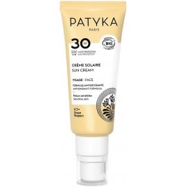 Patyka Crème Solaire Visage Bio SPF30 40ml