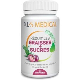 XLS Medical Graisses Et Sucres 120 Comprimés