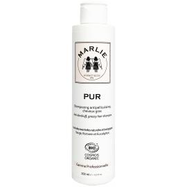Marlie P U R shampooing antipelliculaire, cheveux gras 200ml