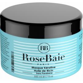 RoseBaie Masque à la Kératine et à l'huile de ricin 500ml