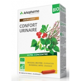 Arkopharma Arkofluides Confort Urinaire Bio 20 Ampoules