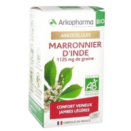 Arkopharma Arkogélules BIO Marronier d'Inde x 150