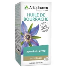 Arkopharma Arkogélules BIO Huile de Bourrache x 180