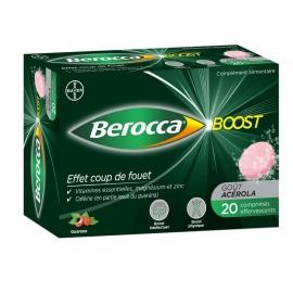 Berocca Boost Effet Coup de Fouet 20 comprimés