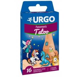 Urgo Tatoo Pansements x 16