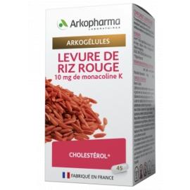 Arkopharma Arkogélules Levure de Riz Rouge 45 gélules