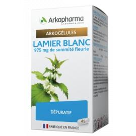 Arkopharma Arkogélules Lamier Blanc 45 gélules