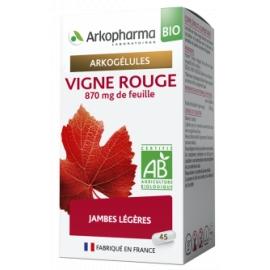Arkopharma Arkogélules BIO Vigne Rouge x 45