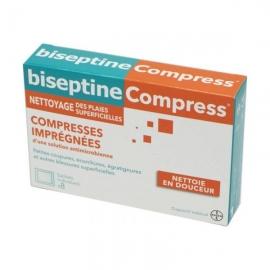 BISEPTINE COMPRESS x8