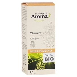 Le Comptoir Aroma Huile Végétale Chanvre 50 ml