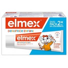 ELMEX Dentifrice 3-6ANS 2 x 50 ml