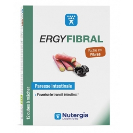 ERGYFIBRAL Paresse Intestinale x 12 cubes
