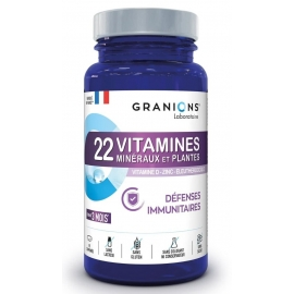 Granion 22 vitamines Défense Immunitaire x 90