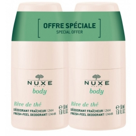 Nuxe Body Déodorant Rêve de Thé 2 x 50 ml